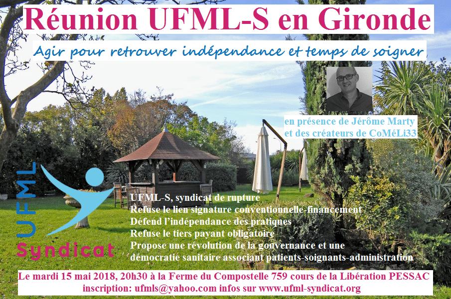 UFML-S vous rencontre en Gironde