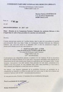 Soutien à notre confrère Patrice Geoffriaud menacé pour liberté tarifaire