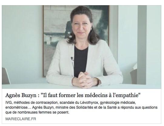 Agnès, Marie-Claire et l'empathie