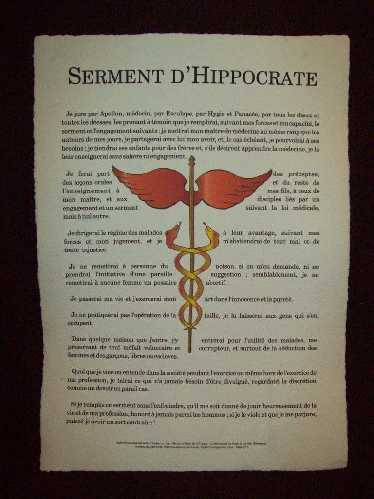 Les politiques, Hippocrate et l'ingrat corporatiste