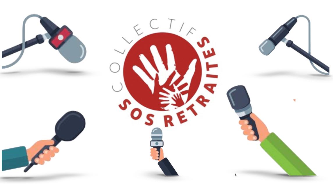 Communiqué de presse : Grève générale à l'appel du Collectif SOS retraites le 03 janvier 2020