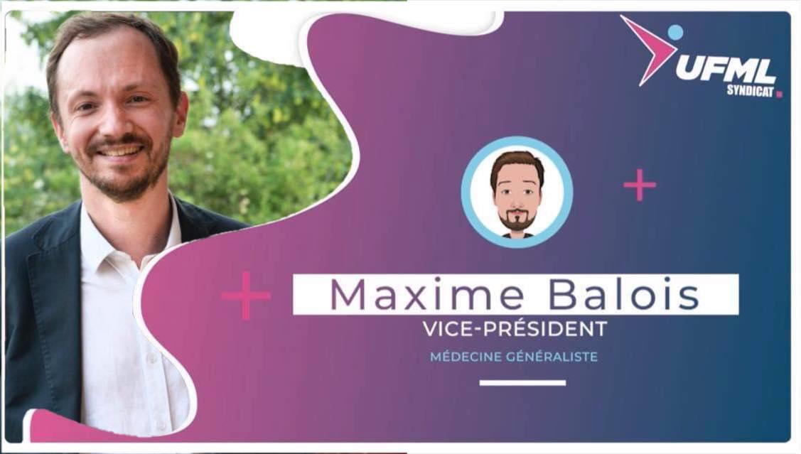 Dr Maxime Balois